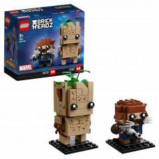 Конструктор LEGO BrickHeadz Грут и Ракета 41626