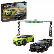 Конструктор LEGO Speed Champions Lamborghini Urus ST-X Lamborghini Huracan Super Trofeo EVO 76899