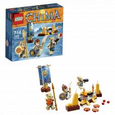 Конструктор LEGO Chima Лагерь Клана львов (70229)