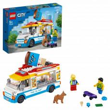 Конструктор LEGO City Great Vehicles Грузовик мороженщика 60253