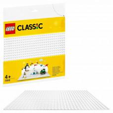 Конструктор LEGO Classic Пластина базовая Белая 11010