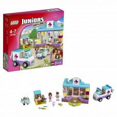Конструктор LEGO Juniors Ветеринарная клиника Мии (10728)