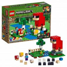 Конструктор LEGO Minecraft Шерстяная ферма 21153