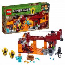 Конструктор LEGO Minecraft Мост ифрита 21154