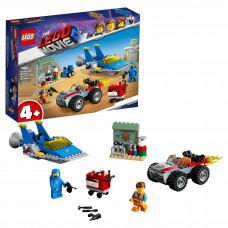 Конструктор LEGO Movie Мастерская Строим и чиним Эммета и Бенни 70821