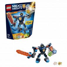 Конструктор LEGO Nexo Knights Боевые доспехи Клэя (70362)