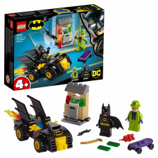 Конструктор LEGO DC Super Heroes Бэтмен и ограбление Загадочника 76137