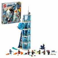 Конструктор LEGO Super Heroes Битва за башню Мстителей 76166