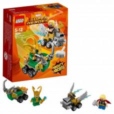 Конструктор LEGO Mighty Micros: Тор против Локи Super Heroes (76091)