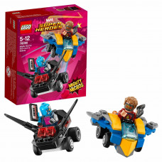 Конструктор LEGO Mighty Micros: Звёздный Лорд против Небулы Super Heroes (76090)