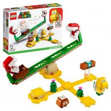 Конструктор LEGO Super Mario Мощная атака Растения-пираньи 71365