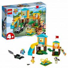 Конструктор LEGO 4+ Приключения Базза и Бо Пип на детской площадке 10768